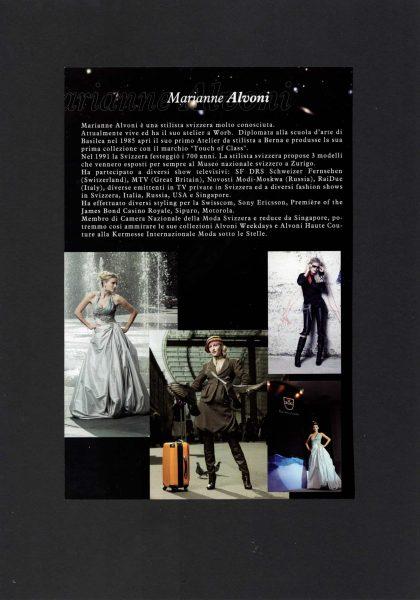 Marianne Alvoni sotto le stelle